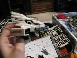 Building of My New Zoid 1 by MidnightLiger0
