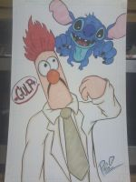 Beaker and Stitch commission by XxPohGoxX