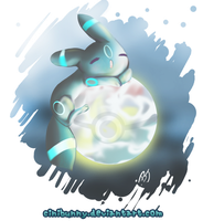 Kiriban 1k Shiny Umbreon by MrsMuffet