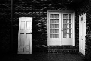 A Man And A Door Fin by BlackCarrionRose
