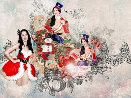 Hav urself a merry little Xmas by Diane-Demiley