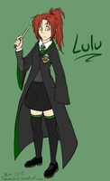 Harry Potter OC: Lulu by tomahachi12