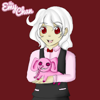 3 Word Oc Challenge (White, Scary, Elephant) by TheEmyChan