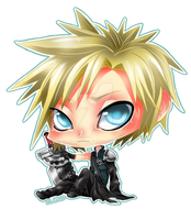 CHIBI - FFVII Cloud Strife by Razon-Fan