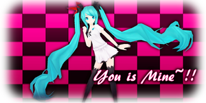 MMD World Is Mine Project Diva - You is Mine !! by xxSnowCherryxx