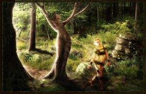 A Dryads Hope by JayelDraco