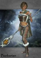 Barbarian for V4 by LadyLittlefox