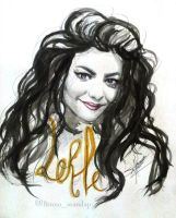 LORDE by brunoarandap