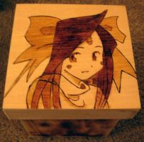 Skuld woodburning by akicafe