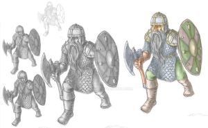 a Dwarf from Hobbit by headconc