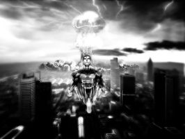 Superman Reborn by Dr-Bee