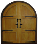 Double Arched Doors by WDWParksGal-Stock