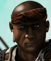 Assassin's Creed Black Flag: Adewale by Rubysmooby