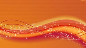 Orange Wave HD Wallpaper by StarwaltDesign