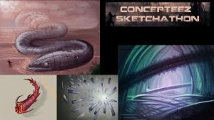 Concepteez Sketchathon event by GDSWorld