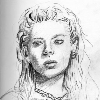 Lagertha the Viking by LCNarwhal