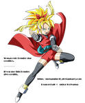 DB Heroes GM Heroine ssj v5 Render by Metamine10