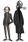 Clarence Boddicker and Cain by kungfumonkey