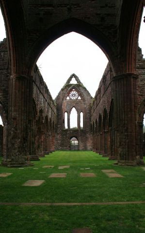 Sweetheart Abbey 8 by GothicBohemianStock