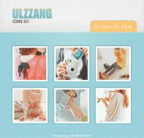 Ulzzang icons set 14 25 pic. by Minyoung-ssi