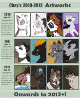 Art from 2010 - 2012 by Super-Chey