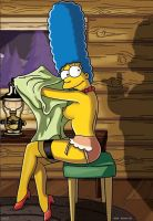 Marge playboy shoot fake 2 by WVS1777