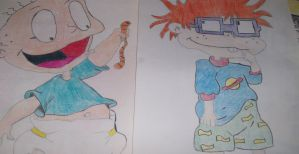 Tommy and Chuckie Drawings by smileymileysworld