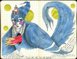 BlueBird - journal17 by LadyOrlandoArt