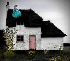 The Reader on the Roof by Children7