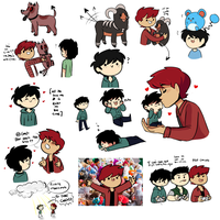 doodle dump feat weenie hut jrs and spawn of satan by BlueMoonRocket