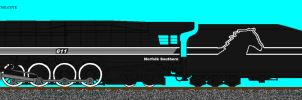 Norfolk Southern 611 by simulatortrain