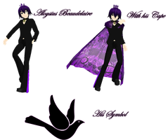 Prince of Darkness: Aloysius Beaudelaire by NightWitch14