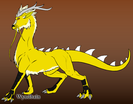 Eastern Dragon by TheWingedOnes