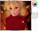 Seras WIP by chickenoverlord