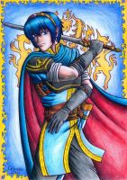 Marth by LadyJunina
