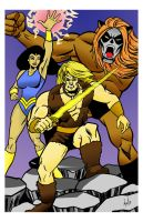 Thundarr the Barbarian by TonyMiello