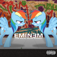 Eminem - The Real Slim Shady (Rainbow Dash) by AdrianImpalaMata