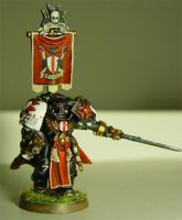Black Templars Marshal by cyphercodicer2
