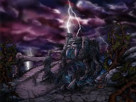Castle Grayskull by FlyToFerio