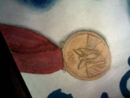 Swimming Painting Medal Part by Serene22