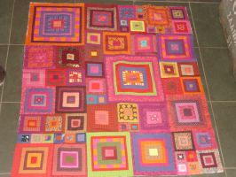Warmly quilt 2. by LittleLucille