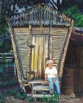 The Corncrib - Colored Pencil Commission by Devynn
