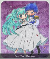 Kaito and Miku: Cendrillon by Vocaloid-fanclub