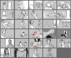 Sectumsempra Storyboard by ragweed