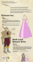 Second Draft OCT Ref Sheet - Grim and Ivy by LankyPicket