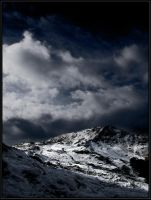 Snow Capped Mountains by davidbridges