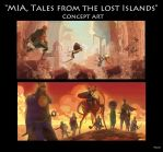 Mia Tales from the Lost Islands concept art 2 by NunoPlati