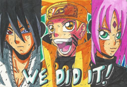 Naurto Shippuden: They did it! w/Video by d13mon-studios