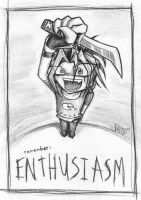 Be Enthusiastic by Gatobob-Spotty
