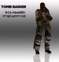TOMB RAIDER scavenger Executioner by doppelstuff